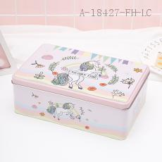 Unicorn Pattern Square Box 20*13*7cm