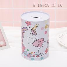 Unicorn Pattern Money Box 10*15cm