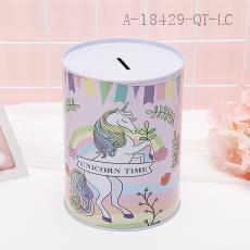 Unicorn Pattern Money Box 12*16cm