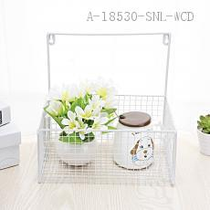 Wall-mounted storage basket  27*19.5*11.5cm  Bubble bag