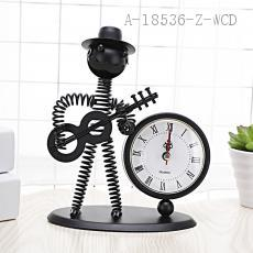 Frog clock  18*7.3*14cm  OPP bag packaging