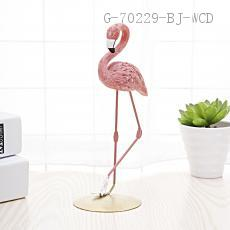 Flamingo Ornaments  9*7*18cm  paper pack-ups