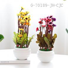 CYY-42  Decorative potted  Carton packaging  Size 20*7cm