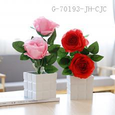 CYY-39  Decorative potted  Carton packaging  Size 30*10cm