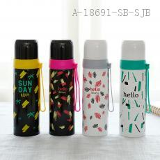 8238  Thermos Cup  Color box  24*6.8cm 500ml