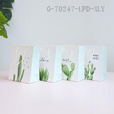 Small  Cactus Gift Bag  210g  10*18*23cm
