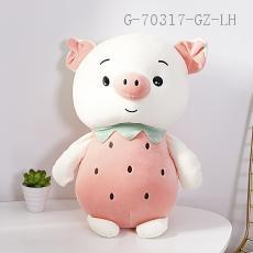 Large  Fruit Pig Doll  40cm