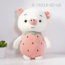 Small  Fruit Pig Doll  25cm