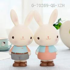 Rabbit Piggy Bank  Color box  22.5*9*6.8cm 227g