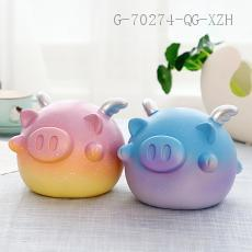 Large Pig Piggy Bank  Color box  13*13*16cm