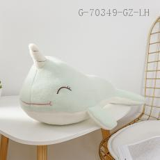 Medium Narwhal Doll  50cm  410g