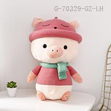 Large Hat Pig Doll  50cm  740g