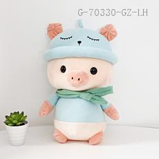 Medium Hat Pig Doll  30cm  310g
