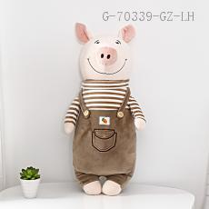 Medium Bib Pants Pig Doll  55cm  430g