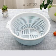 3212  Double Layer Drain Sieve  35.5*14cm  371g