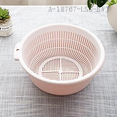 3213  Double Layer Drain Sieve  29.5*11cm  237g