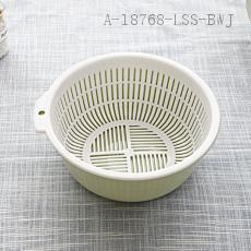 3214  Double Layer Drain Sieve  23.5*9.5cm  152g
