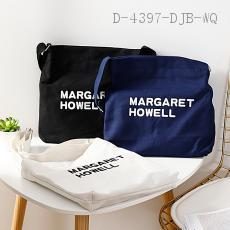 Letter Canvas Shoulder Bag  30*30cm