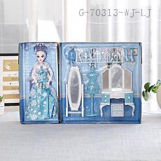 Ice Fairytale Bedroom Toy  Color box  52*10*35cm