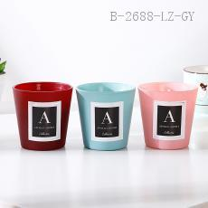 Candy Color Cup Candle  7.5*7cm