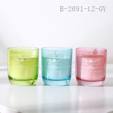 Transparent Cup Candle  8.8*7.5cm