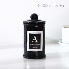 Postbox Cup Candle  11*5.8cm