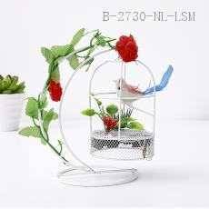 Crescent Decorative Bird Cage  Color box  15*12cm