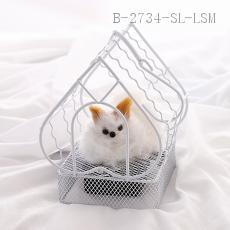 Decorative Kitten Cage  Color box  18*18*6cm