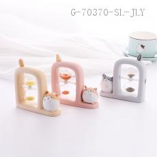 Hamster Decorative Hourglass  11.5*4*12cm