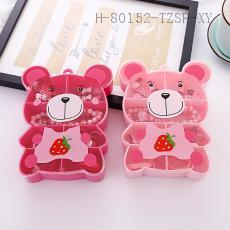 Bear Headpiece Ring Set