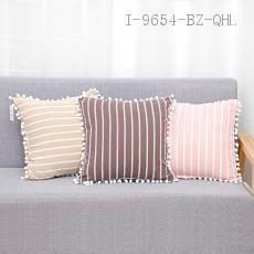Cotton Fabric Fringed Pillow  43*43cm  400g