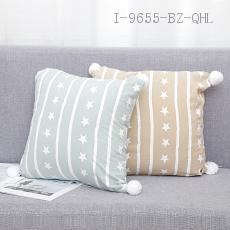 Cotton Fabric Ball Pillow  43*43cm  400g