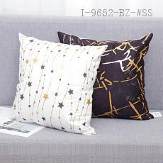 Black White Hot Stamping Pillow  43*43cm  40g