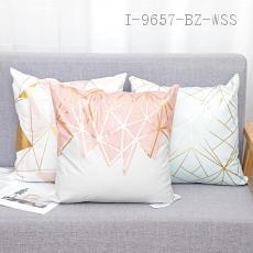 Geometric Bronzing Pillow  43*43cm  400g