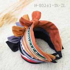 Korean Ribbon Letters Barrette