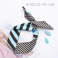 Striped Cartoon Hair Strap  12PCS