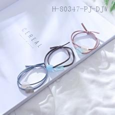 Two-Color Peach Heart Band  12pcs