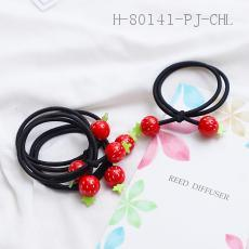 Strawberry Simple Rubber Band
