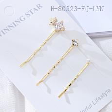 Crown Hair Clip  12pcs