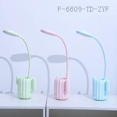3169  Cactus Pen Holder Table Lamp  Color Box  13.5*37*6cm