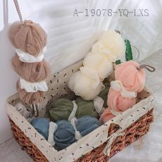 Plain Three Lantern Bath Balls  80g  20cm