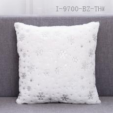 Embroidered Plush Pillow  41*41cm  300g