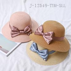 Pearl Bow Sun Hat