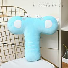 Letter Series Plush Toy T Shape  40*43cm  400g