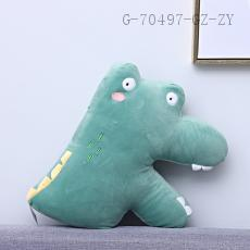 Letter Series Plush Toy K Type  40*33cm  450g