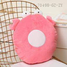 Letter Series Plush Toy O Shape  35*35cm  450g