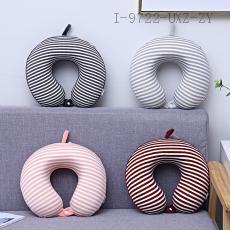 Striped Super Soft Memory Cotton U-Shaped Pillow  30*26cm  450g