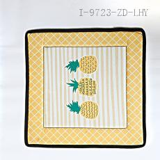 Non-Slip Pineapple Pattern Mat  45*45cm
