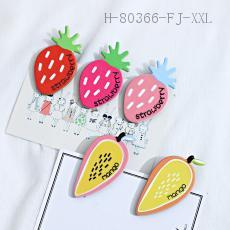 Fruit Series Hair Clips  10pcs