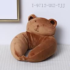 Bear Animal U-Shaped Pillow